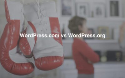 WordPress.com vs. WordPress.org – Quel est le meilleur CMS WordPress?