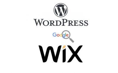 Wix vs WordPress: Lequel est le meilleur pour le SEO?